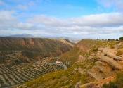 Gorafe canyon and desert, wonderful of the Granada Geopark. Photo: Alex Rodier/EntreTierras