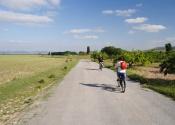 En route vers Caravaca de la Cruz, cinquième Ville Sainte de la Chrétienté. Auteur: Alex Rodier