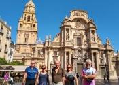 La cathédrale de Murcia, ou comment finir votre tour en apothéose.