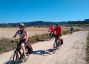 De camino a Caravaca de la Cruz, cruzando las colinas de Torre Jorquera.
