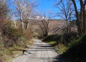 Les ramblas, cours d'eau secs sont excellents pour pénétrer dans le territoire en suivant des sentiers faciles avec peu de dénivellé (Rambla de la Sierra de las Estancias). Jour 6. Auteur: Alex Rodier