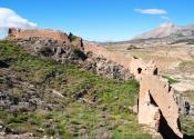La forteresse de Xiquena marque l'emplacement de l'ancienne frontière entre le royaume nasride de Grenade et la royaume chrétien de Murcie. Jour3. Auteur: Alex Rodier