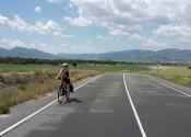 Bajando de Moratalla, de camino a Calasparra.