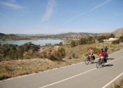 By the Alfonso XIII reservoir, towards Cieza.