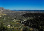 Panoramica del Valle del río Corneros, llegando a Vélez Blanco. Día 2. Autor: Pablo by Flickr