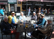 Profitez ensuite d'un apéritif bien mérité sur la Place des Fleurs, site emblématique de Murcie.  Auteur: Alex Rodier