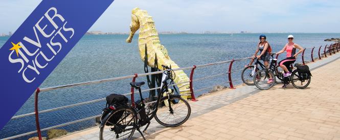 La Costa Cálida en bici y barco. Portada silver Cyclists.